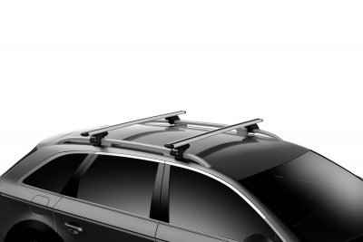 image of thule evo wingbar installed on a car