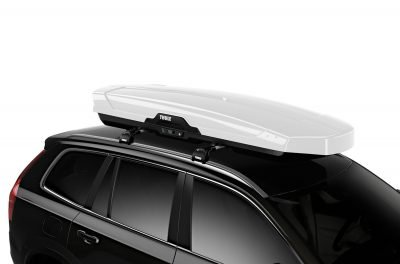 image of a thule roof box