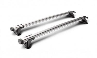 top view image of whispbar through bar roof racks