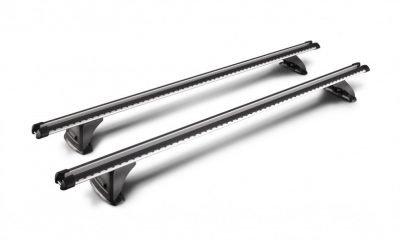 top view image of whispbar hd heavy duty roof racks