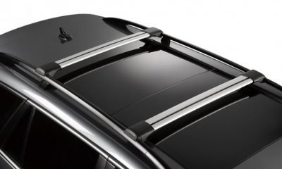 image of whispbar rail bar roof racks installed on a car