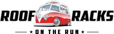 roof racks on the run logo with subtitle