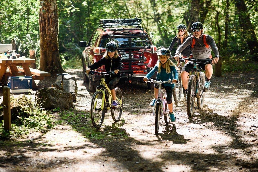 Family biking adventures made easy